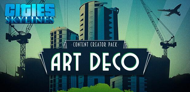 Cities: Skylines - Content Creator Pack: Art Deco - Cover / Packshot