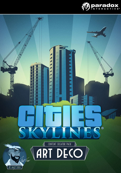 Cities: Skylines - Content Creator Pack: Art Deco - Cover / Packshot