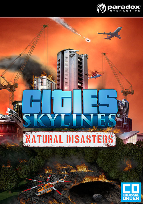 Cities: Skylines - Natural Disasters - Cover