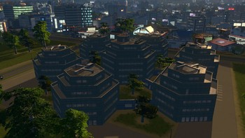 Screenshot6 - Cities: Skylines - Content Creator Pack: High-Tech Buildings