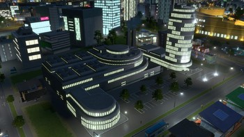 Screenshot9 - Cities: Skylines - Content Creator Pack: High-Tech Buildings