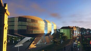 Screenshot5 - Cities: Skylines - Content Creator Pack: High-Tech Buildings