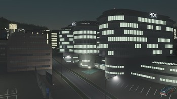 Screenshot2 - Cities: Skylines - Content Creator Pack: High-Tech Buildings