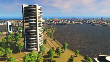 Screenshot3 - Cities: Skylines - Content Creator Pack: High-Tech Buildings