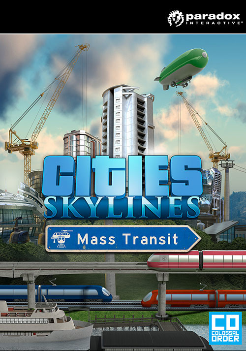 Cities: Skylines - Mass Transit - Packshot