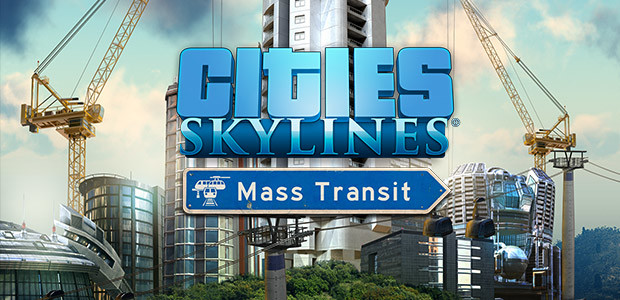 Cities: Skylines - Mass Transit - Cover / Packshot
