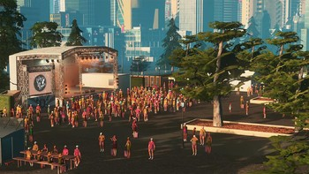 Screenshot1 - Cities: Skylines - Concerts
