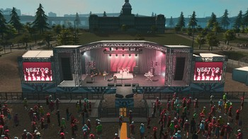Screenshot2 - Cities: Skylines - Concerts
