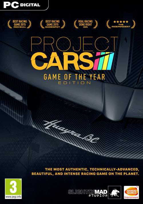 Project CARS: Game Of The Year Edition - Packshot