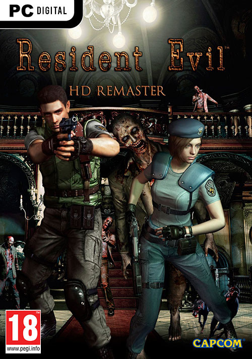 Resident Evil HD Remaster - Cover