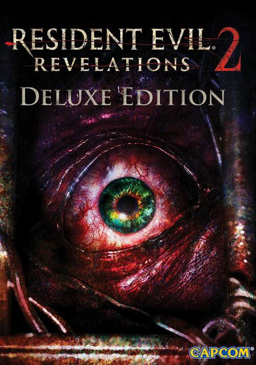 Resident Evil: Revelations 2 Deluxe Edition - Cover / Packshot