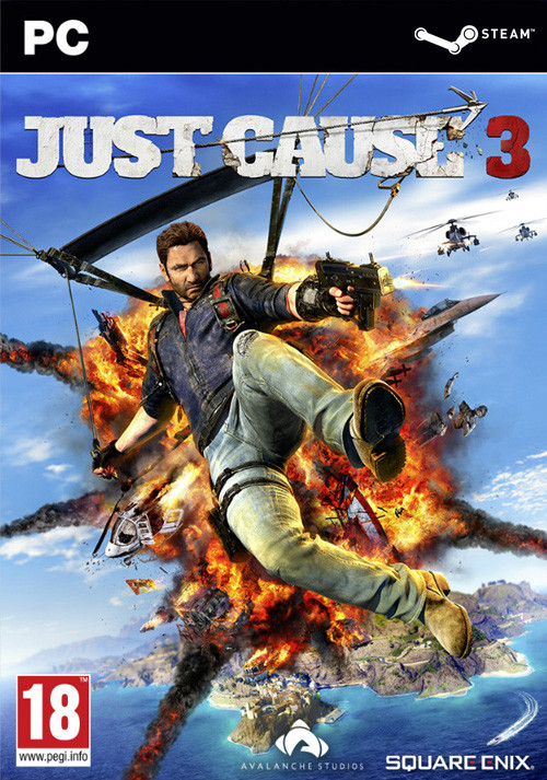 Just Cause 3 - Cover
