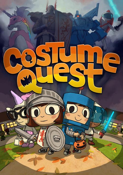 Costume Quest - Cover / Packshot