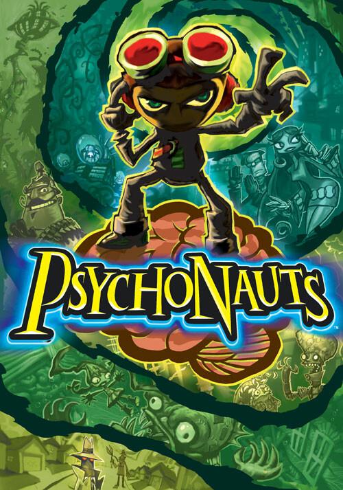 Psychonauts - Cover / Packshot