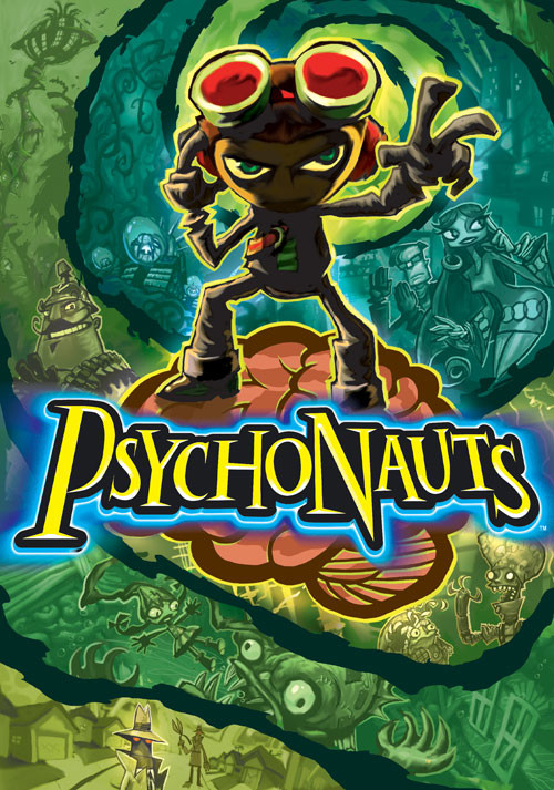 Psychonauts - Cover