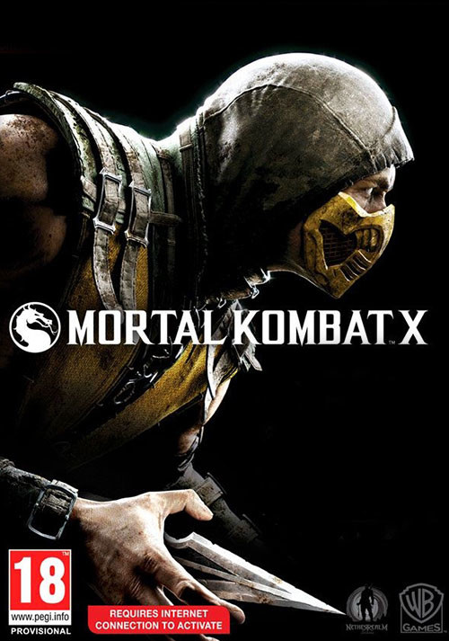 Mortal Kombat X - Cover