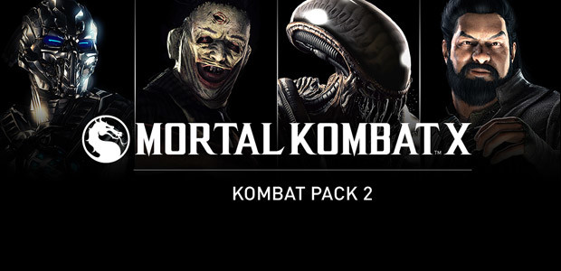 Mortal Kombat X Kombat Pack 2 - Cover / Packshot