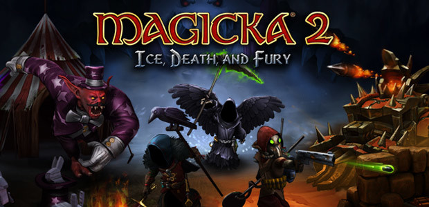 Magicka 2: Ice, Death and Fury DLC - Cover / Packshot