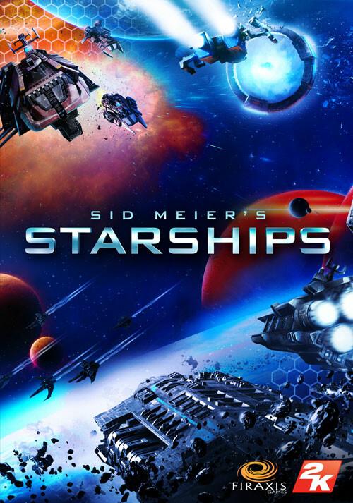 Sid Meier's Starships - Cover