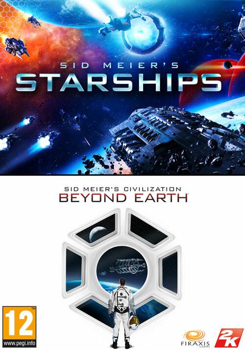 Sid Meier's Starships & Civilization: Beyond Earth Bundle - Cover / Packshot