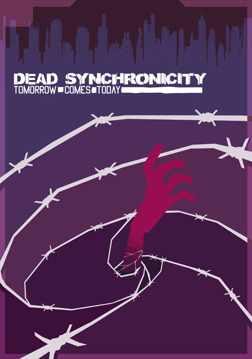 Dead Synchronicity: Tomorrow Comes Today - Cover