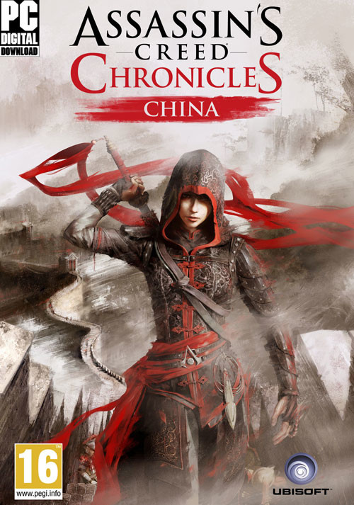Assassin's Creed Chronicles: China - Cover