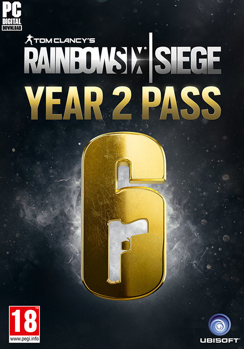 Tom Clancy's Rainbow Six Siege - Year 2 Pass - Packshot