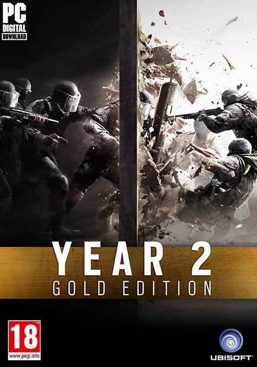 Tom Clancy's Rainbow Six Siege - Year 2 Gold Edition - Packshot