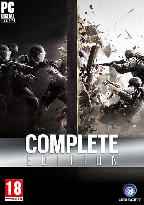 Tom Clancy's Rainbow Six Siege - Complete Edition - Packshot
