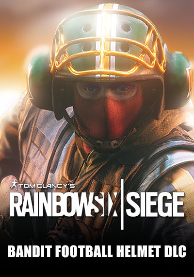 Tom Clancy's Rainbow Six Siege - Bandit Football Helmet DLC - Packshot
