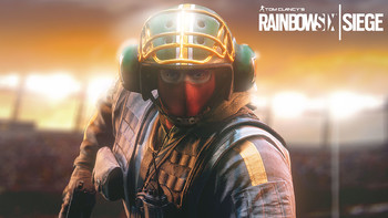 Screenshot1 - Tom Clancy's Rainbow Six Siege - Bandit Football Helmet DLC