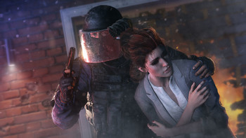 Screenshot2 - Tom Clancy's Rainbow Six Siege - Bandit Football Helmet DLC