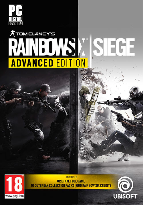 Tom Clancy's Rainbow Six Siege Advanced Edition - Cover