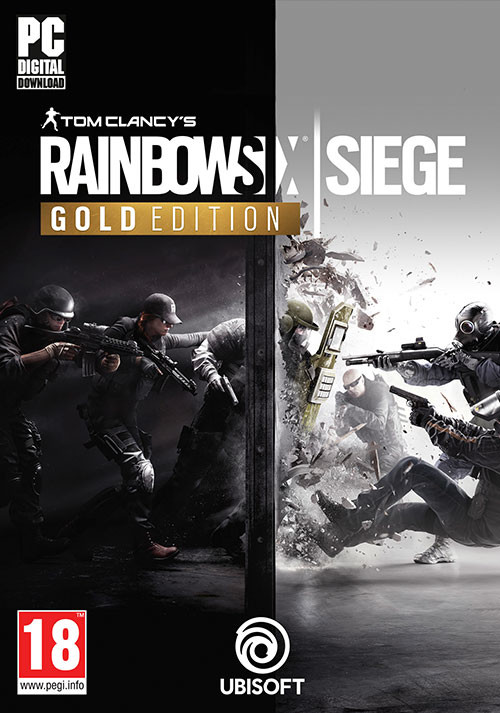 Tom Clancy's Rainbow Six Siege Gold Edition - Packshot