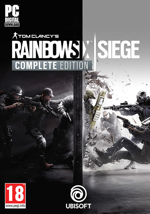 Tom Clancy's Rainbow Six Siege Complete Edition - Packshot