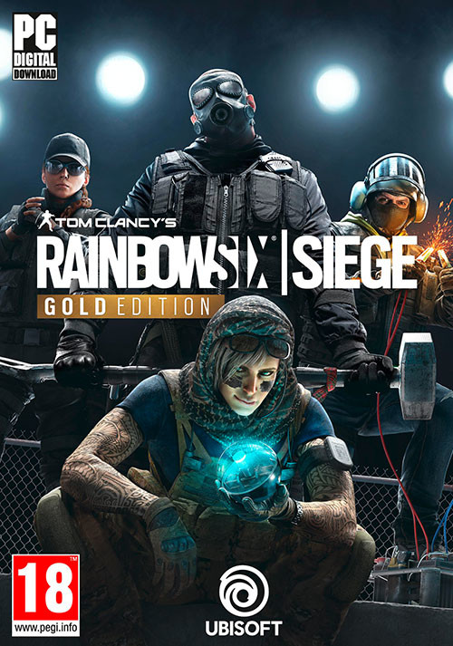 Tom Clancy's Rainbow Six Siege - Gold Edition - Cover
