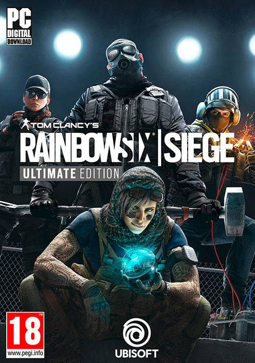 Tom Clancy's  Rainbow Six Siege - Ultimate Edition - Cover
