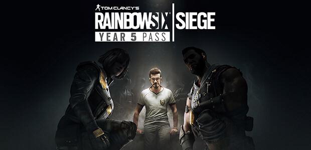 Tom Clancy's Rainbow Six Siege - Year 5 Pass - Cover / Packshot