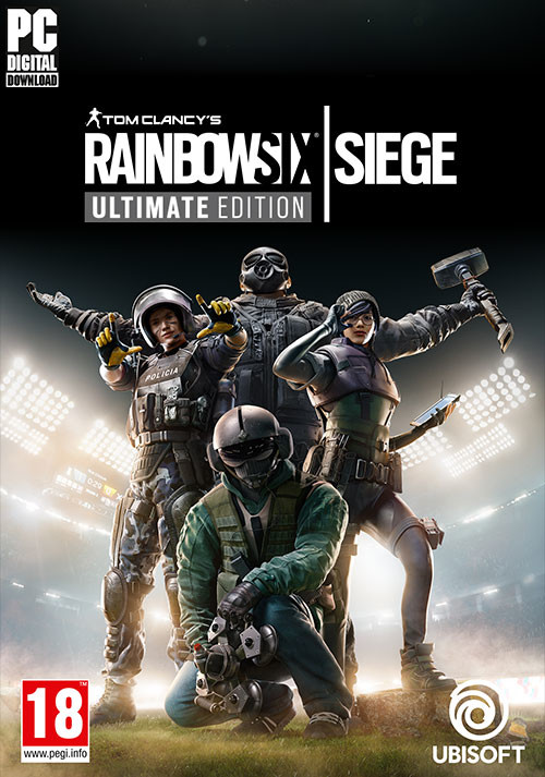 Tom Clancy's  Rainbow Six Siege - Ultimate Edition - Cover / Packshot