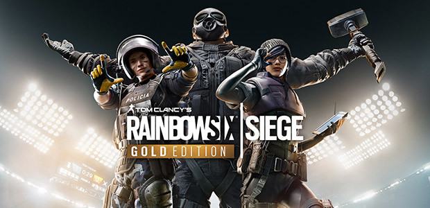 Tom Clancy's Rainbow Six Siege - Gold Edition - Cover / Packshot
