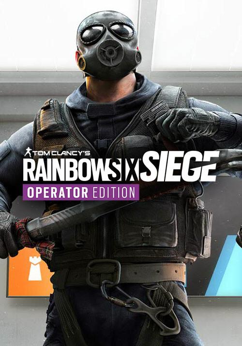 Tom Clancy's Rainbow Six Siege - Operator Edition - Cover / Packshot