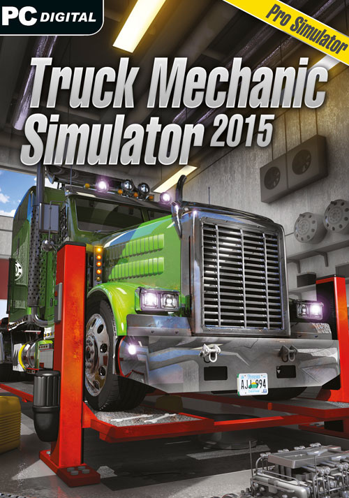 Truck Mechanic Simulator 2015 - Cover