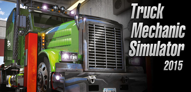 Truck Mechanic Simulator 2015 - Cover / Packshot