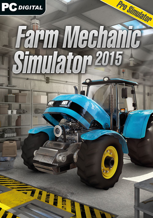 Farm Mechanic Simulator 2015 - Cover / Packshot
