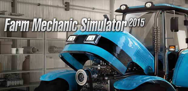 Farm Mechanic Simulator 2015 - Cover / Packshot