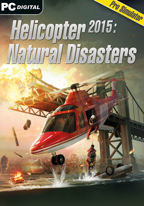 Helicopter 2015: Natural Disasters - Cover / Packshot