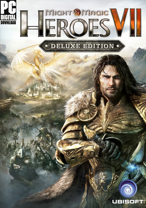 Might & Magic Heroes VII Deluxe Edition - Cover