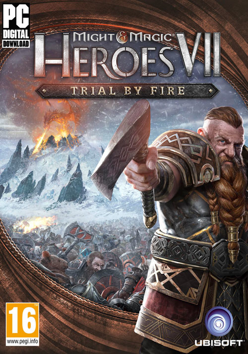 Might & Magic Heroes VII – Trial by Fire - Packshot