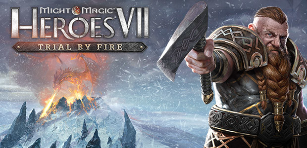 Might & Magic Heroes VII – Trial by Fire - Cover / Packshot