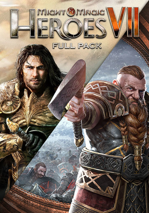 Might & Magic Heroes VII - Full Pack - Cover